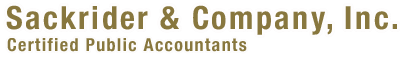 Sackrider & Company, Certified Public Accountants